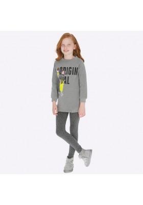Conjunto leggings felpa print de Mayoral para niña modelo 7707