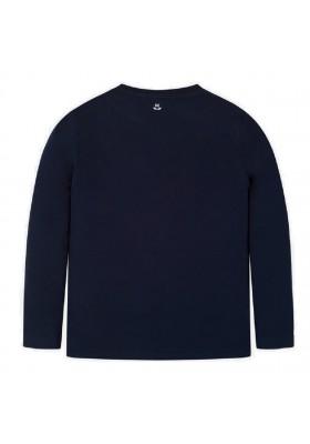 "Camiseta manga larga ""grand prix"" de Mayoral para niño modelo 7041"