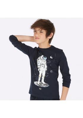 Camiseta manga larga personaje de Mayoral para niño modelo 7040