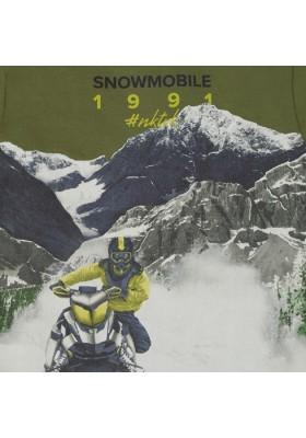 "Camiseta manga larga ""snowmobile"" de Mayoral para niño modelo 7038"