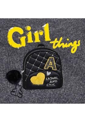 Conjunto leggings bordado mochila de Mayoral para niña modelo 4715