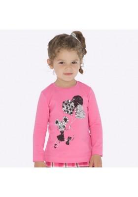 Camiseta manga larga de Mayoral para niña modelo 4016