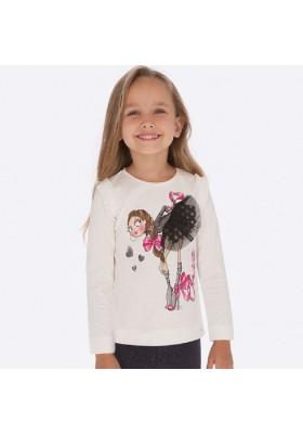 Camiseta manga larga de Mayoral para niña modelo 4007