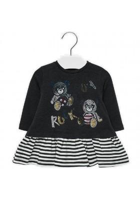 Vestido combinado pandas  de Mayoral para bebe niña modelo 2932