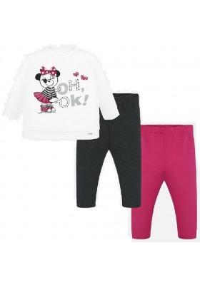 Conjunto leggings panda de Mayoral para bebe niña modelo 2744