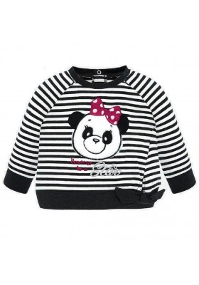 Pullover rayas panda de Mayoral para bebe niña modelo 2422