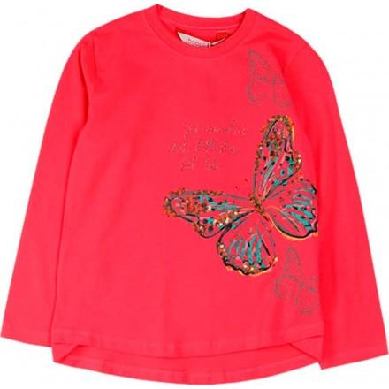 Camiseta punto elástico de niña BOBOLI modelo 428004