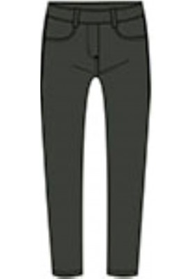 Pantalón polipiel de niña BOBOLI modelo 418069