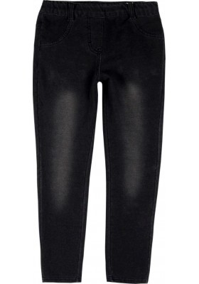 Pantalón felpa denim de niña BOBOLI modelo 498067