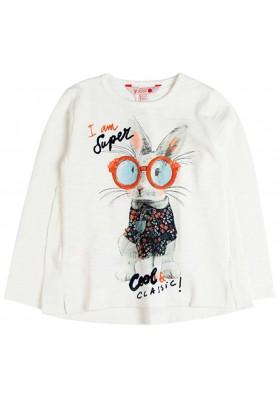 Camiseta punto flamé de niña BOBOLI modelo 458120