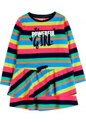 Vestido punto elástico de niña BOBOLI modelo 408057