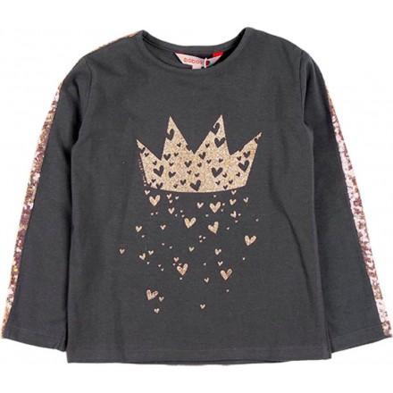 Camiseta punto elástico de niña BOBOLI modelo 468097
