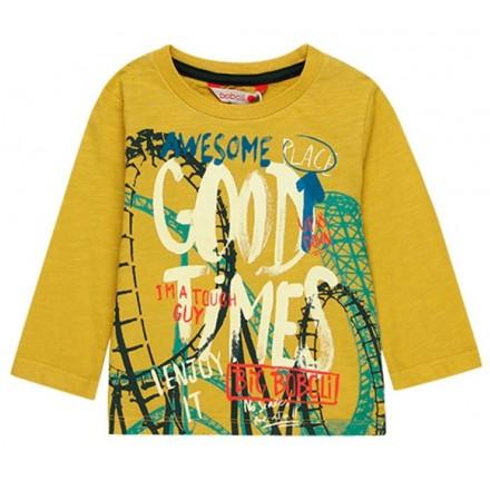 Camiseta punto flamé de bebé niño BOBOLI modelo 308012