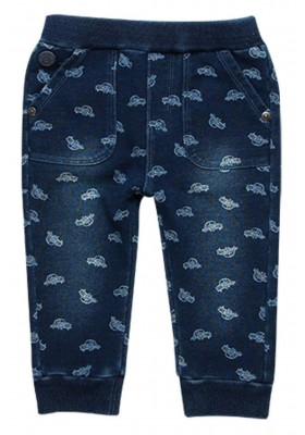 Pantalón felpa denim de bebé niño BOBOLI modelo 338082