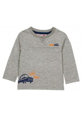 Camiseta punto flamé de bebé niño BOBOLI modelo 338071