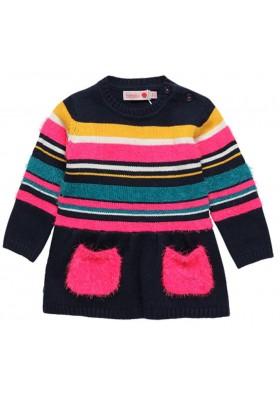 Vestido tricotosa de bebé niña BOBOLI modelo 218034
