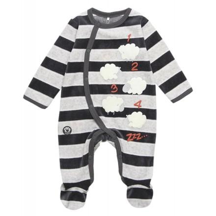 Pelele terciopelo de bebé BOBOLI modelo 148261