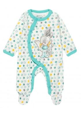 Pelele terciopelo de bebé niña BOBOLI modelo 118101