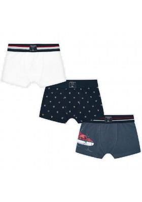 Set 3 boxers lisos/estampado  de Mayoral para niño modelo 10656