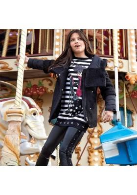 Pantalon largo combinado de Mayoral para niña modelo 7507