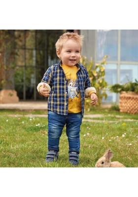 Pantalon jogger soft denim de Mayoral para bebe niño modelo 2537
