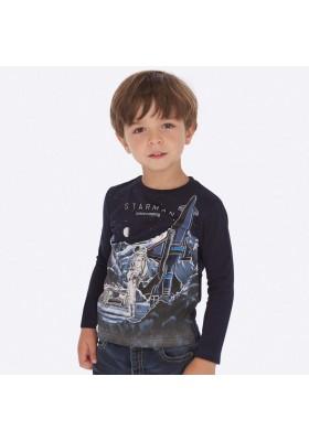 "Camiseta ""glows in the dark"" de Mayoral para niño modelo 4028"