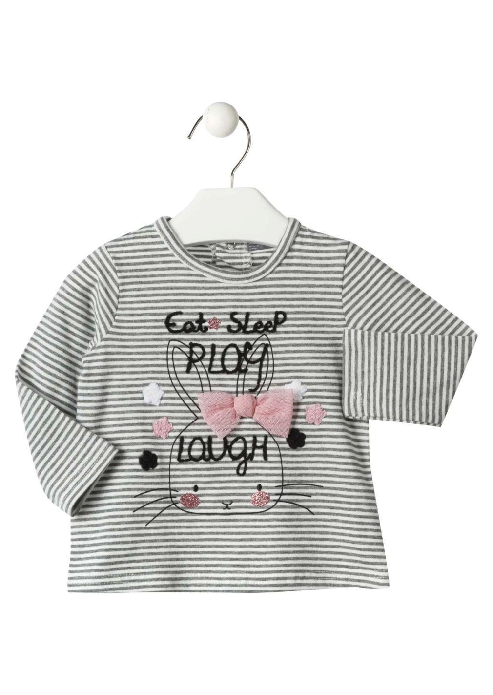 Camisetas de Manga Larga losan para ni/ña