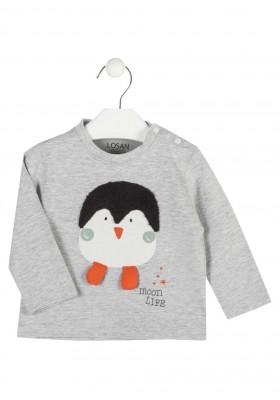 camiseta manga larga con estampado LOSAN de bebe niño modelo 927-1010AA