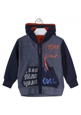 chaqueta de felpa perchada LOSAN de niño modelo 925-6008AA