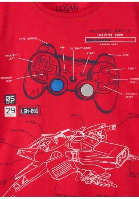 camiseta de manga larga de punto liso LOSAN de niño modelo 925-1207AA