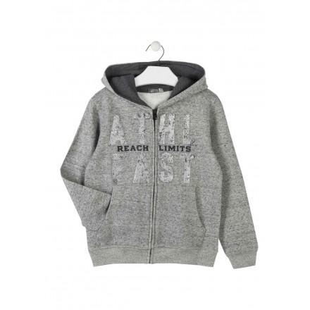 gran venta baa4f da2fa chaqueta de felpa perchada con capucha LOSAN de niño modelo 923-6658AA