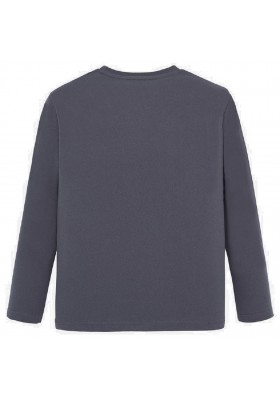 "Camiseta manga larga ""varsity"" de Mayoral para niño modelo 7023"
