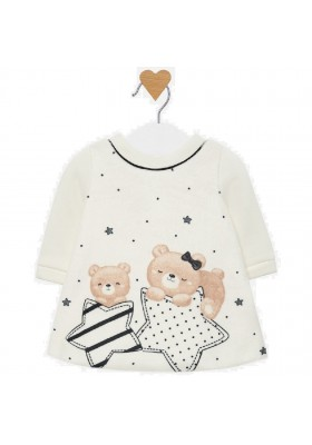 Vestido grafica de MAYORAL para bebe niña modelo 2808