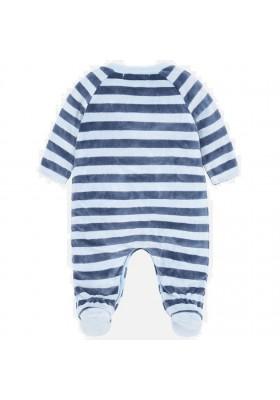 Pijama tundosado rayas de MAYORAL para bebe niño modelo 2720