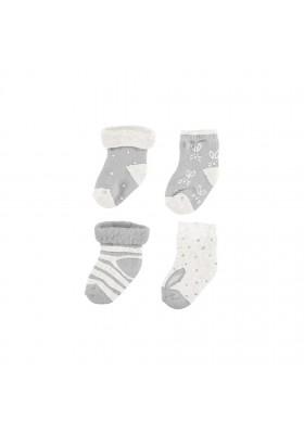 Set 4 calcetines de MAYORAL para bebe niño modelo 9157