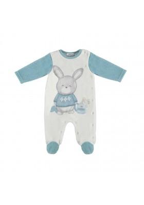 Pijama tundosado serigrafiado de MAYORAL para bebe niño modelo 2725