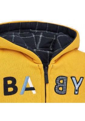 Canguro felpa reversible de Mayoral para bebe niño modelo 2455