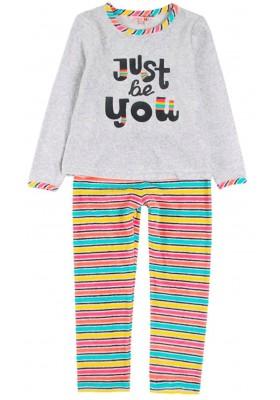 Pijama terciopelo de niña BOBOLI modelo 928100