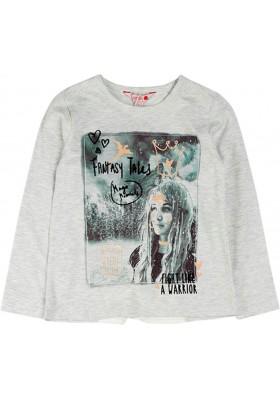 Camiseta punto elástico de niña BOBOLI modelo 468031