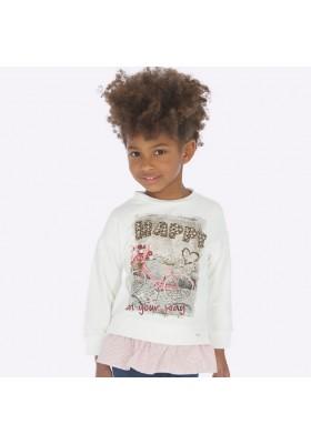 Pullover combinado de Mayoral para niña modelo 4403