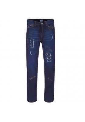 Pantalon largo tejano fantasia de Mayoral para niña modelo 7503