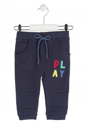 pantalon con parches de rizo LOSAN de bebe niño modelo 927-6015AA