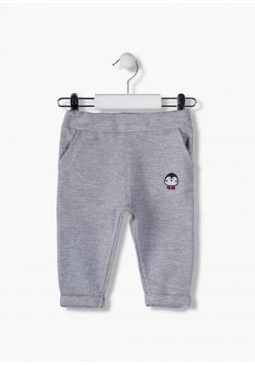 pantalon con etiqueta tejida delantera LOSAN de bebe niño modelo 927-6012AA