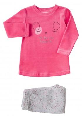 pijama tundosado camiseta y pantalon LOSAN de niña modelo 926-P002AA