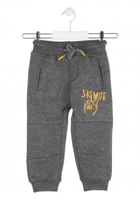 pantalon de felpa perchada jaspeada LOSAN de niño modelo 925-6014AA