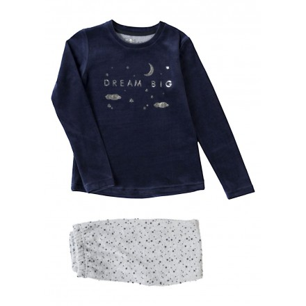 pijama de tundosado LOSAN de niña modelo 924-P003AA