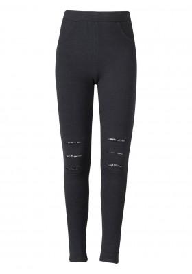leggings de felpa perchada LOSAN de niña modelo 924-6010AA