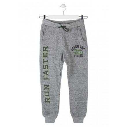 pantalon de felpa perchada LOSAN de niño modelo 923-6022AA