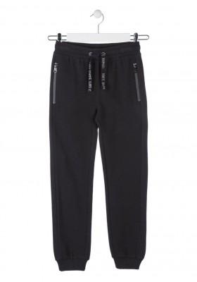 pantalon de felpa con relieve de rayas LOSAN de niño modelo 923-6016AA