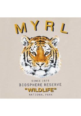 """Camiseta manga corta """"wildlife"""" de MAYORAL para niño modelo 3052"""